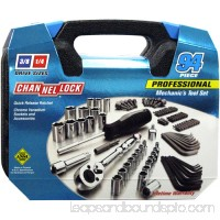 Channellock 94 Piece Mechanics Tool Set   552405099