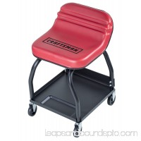Craftsman Creeper Seat High Rise Mechanics Tool Tray Black Red C-7011