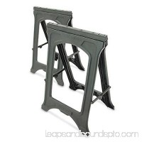 Master Mechanic 22 Plastic Foldable Sawhorse Lightweight And Compact Only One