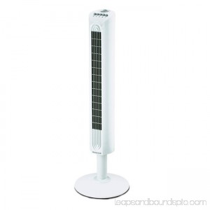 Environmental Comfort Control Tower Fan - White