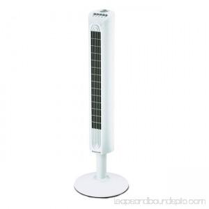 Environmental Comfort Control Tower Fan - White