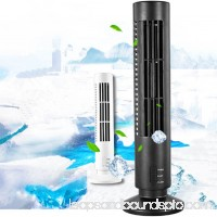 Girl12Queen Portable USB Bladeless No Leaf Air Conditioner Cooling Cool Desk Electric Fan