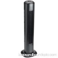HOLMES PRODUCTS HT26U Oscillating Tower Fan, Three-speed, Black