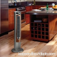 "Lasko 42"" Wind Curve 3-speed Tower Fan with Fresh Air Ionizer, Model #2554, Gray with Remote   001171757"