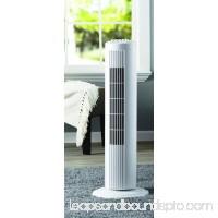 """Mainstays 27"""" Oscillating Tower 3-Speed Fan, Model #FZ10-10NB, Black   568020241"""
