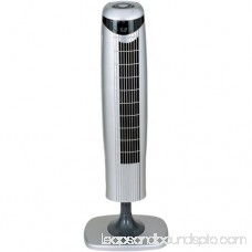 Optimus 35 Pedestal Tower 3-Speed Fan, Model #F-7414, White with Remote 552103137