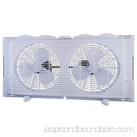 High Velocity 2-in-1 Double Window Horizontal Vertical Fit Energy Efficient Fan 556259733