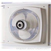 Lasko 2155A Electrically Reversible Window Fan - 406mm Diameter - White