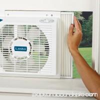 Lasko 8 Electrically Reversible Twin Window 2-Speed Fan, Model #2138, White 563475723
