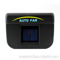 Solar Power Car Window Fan Auto Ventilator Cooler Air Vent Vehicle Ventilation Auto Solar Car Windshield Fan Cooler Air Vehicle Radiator Vent