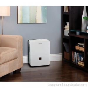 Danby Energy Star Compliant 50 Pint 3000 SF Portable Home Dehumidifier, White