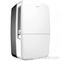 Hisense DH-35K1SCLE 14 Inch Wide 35 Pint Freestanding Dehumidifier with Dual Speeds   552545931