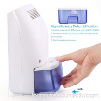 Household small dehumidifier,1Air Dehumidifier 700ml Ultra Quiet Portable Dehumidifier Moisture Absorber for Bedroom Kitchen