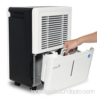Ivation Energy Star Dehumidifier, For Spaces Up To 4,500 Sq Ft, Includes Programmable Humidistat, Hose Connector, Auto Shutoff / Restart, Casters and Washable Air Filter