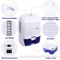 Mini Portable  Dehumidifier for Damp Air Household for Home and Basement on Sale US Plug WCYE