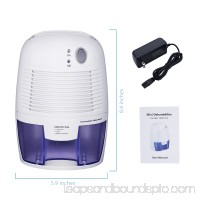 VicTsing Air Dehumidifiers, Portable Dehumidifier Compact Moisture Absorber for Home, Bedroom, Office