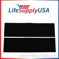 2 Pack Replacement Carbon Pre-Filters for Honeywell K Filter HRF-K2 by LifeSupplyUSA